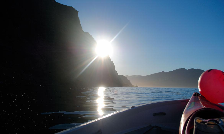 Sunset in Seyðisfjörður